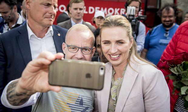 Mette Frederiksen gab sich leutselig und populistisch. Sie spricht dem Volk aus der Seele.