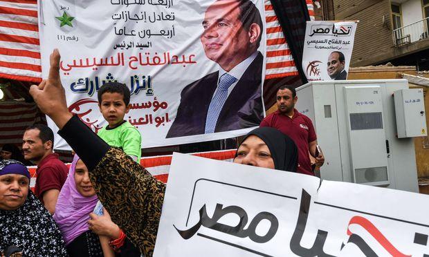 Al-Sisi bekommt 97 Prozent