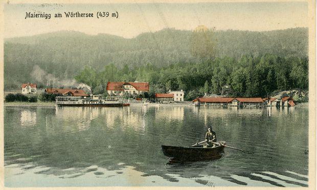 Maiernigg bei Klagenfurt Anfang des 20. Jahrhunderts – Sommerfrische-Setting.