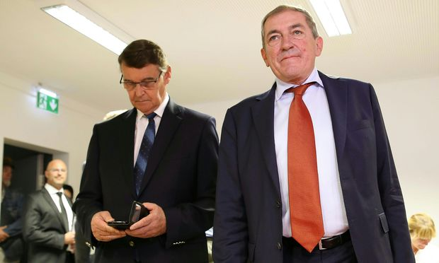 Salzburgs Bürgermeister Heinz Schaden (SPÖ) wartet auf ein Urteil.   / Bild: (c) APA/FRANZ NEUMAYR (FRANZ NEUMAYR)
