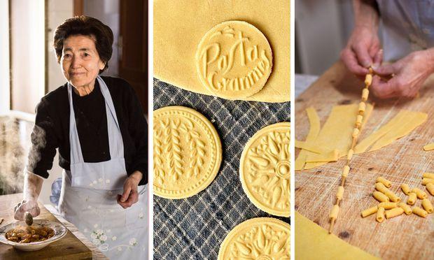 Im Herbst wird ein Pasta-Grannies-Buch auf Englisch erscheinen.  / Bild: Pasta Grannies