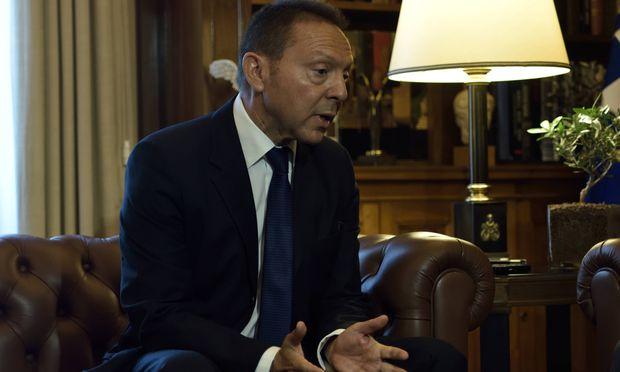 Zentralbankchef Giannis Stournaras