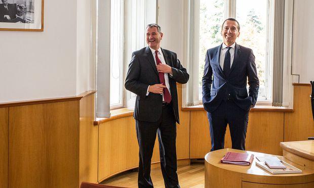 BUNDESKANZLER KERN WILL LÖWELSTRASSE WIEDER ZUM SPÖ-ZENTRUM MACHEN