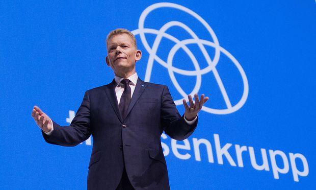 ThyssenKrupp-Chef Guido Kerkhoff muss die EU von seinen Plänen überzeugen.