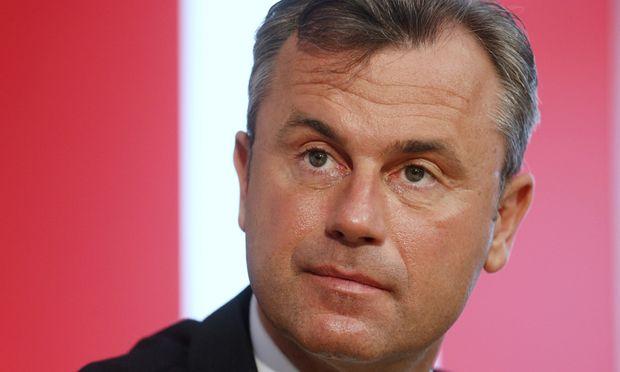 Präsidentschaftskandidat Norbert Hofer.