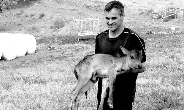 Hans Muster ist mit seinen Zebus einer der Produzenten der Region.