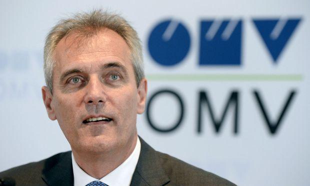 OMV-Chef Rainer Seele kommt an der Börse gut an