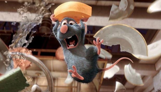 """In """"Ratatouille"""" hilft eine Ratte einem Küchenjungen - und wird zum Chefkoch."""