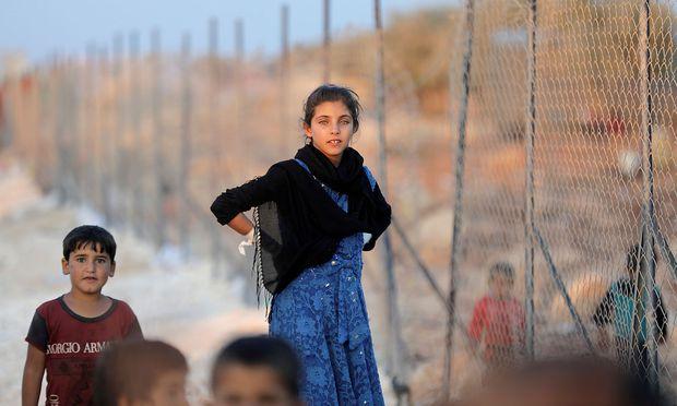In dem Flüchtlingslager sollen vor allem Frauen wohnen.