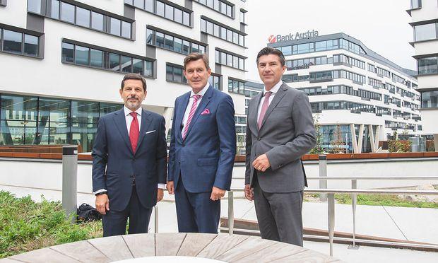 Neue Unternehmenszentrale der UniCredit Bank Austria offiziell eroeffnet