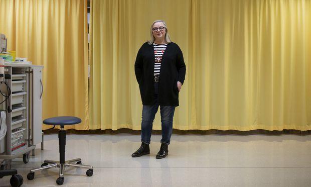 """Die """"Coping School"""" half Gabriele Lahofer ihrem Übergewicht die Stirn zu bieten."""