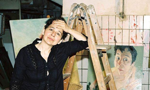 """""""Im Tiefsten meiner Seele bin ich Malerin"""", sagt die Universalkünstlerin Mara Mattuschka, die ihre vielen Ichs auch zu Zelluloid brachte."""