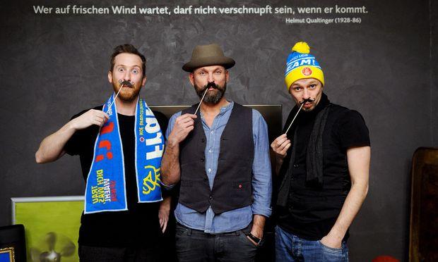 Mitarbeiter bei Wagner/Steinperl: Klemens Oezelt, Thomas Wagner (GF) und Hermann Rauschmayr (v. l.)