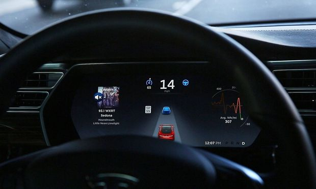 Der Tesla-Autopilot.