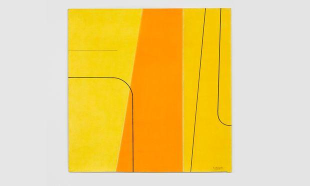 """""""Untitled"""" von 1965 von Bice Lazzari findet man bei Richard Saltoun, der der Künstlerin den ganzen Stand widmet."""
