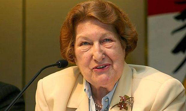 Maria Schaumayer war weltweit die erste Frau an der Spitze einer Nationalbank