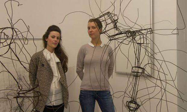 Isabella Ritter und Katharina Husslein