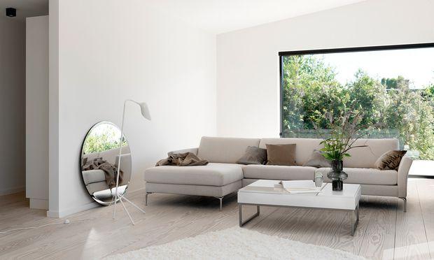 """Freigeist. Das Sofa ist, was man daraus macht:  """"Marseille"""" von BoConcept."""