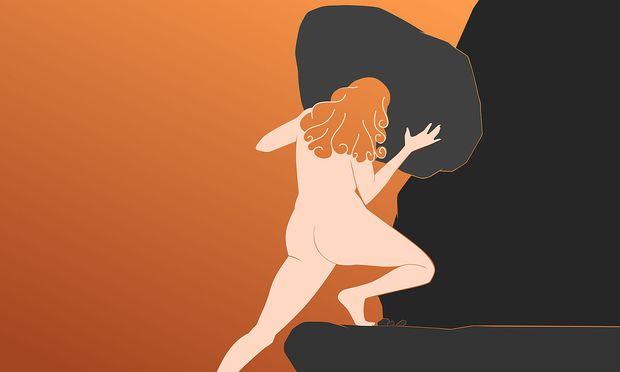 Sisyphus als Frau