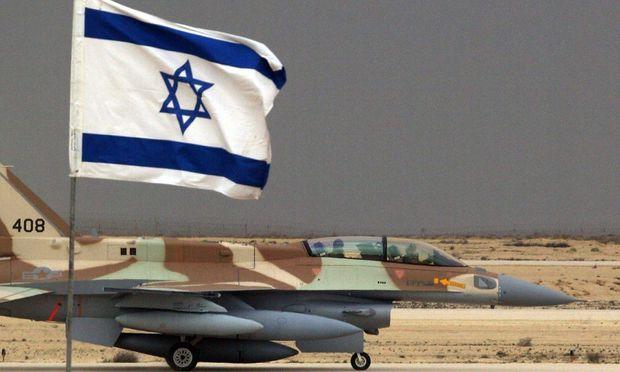 Archivbild eines israelischen F16-Jets.