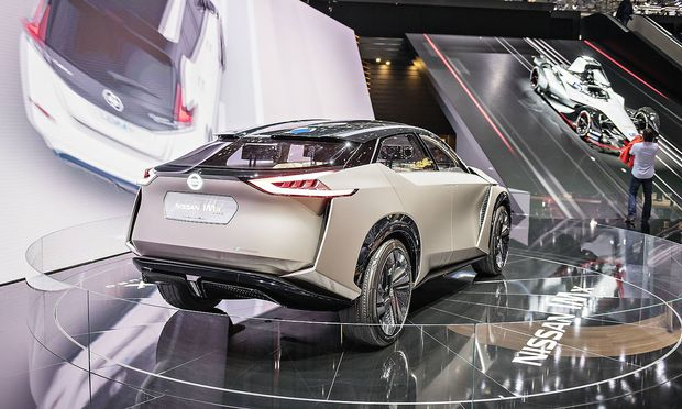 Nissan iMX Kuro concept reveals our electric crossover future 88th International Motor Show in Gene