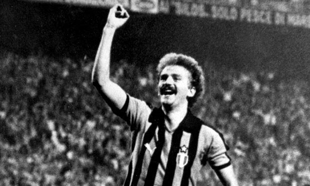 Prohaska trug von 1980 bis 1982 das Trikot von Inter Mailand.