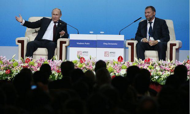 Die Nähe zum russischen Präsidenten, Wladimir Putin, wird Oleg Deripaska nun zum Verhängnis. Kein anderer Oligarch ist von den neuen US-Sanktionen so stark betroffen wie der Strabag-Miteigentümer.