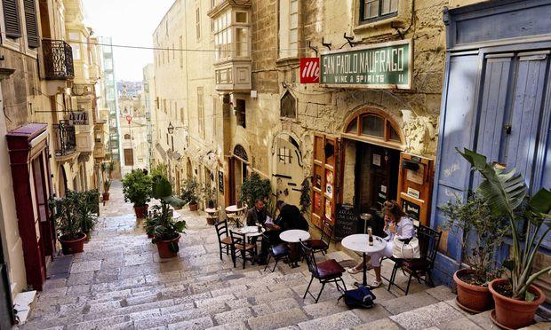 In der Altstadt von Valetta