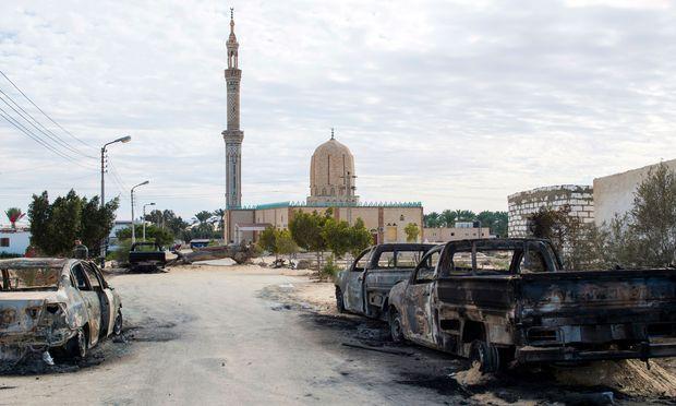 Symbolbild Sinai Anschläge.