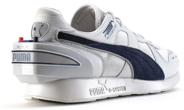 Puma bringt Neuauflage seiner 80er Schuhe mit Tracking