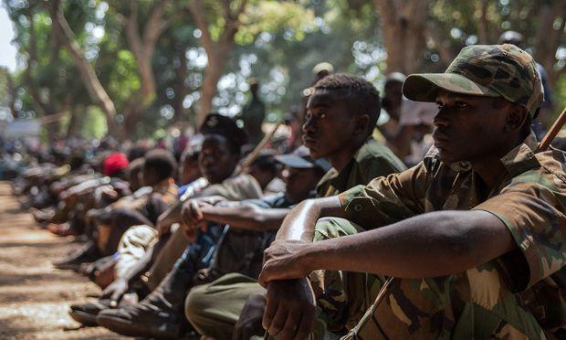 Geraubte Jugend: Kindersoldaten im Südsudan.