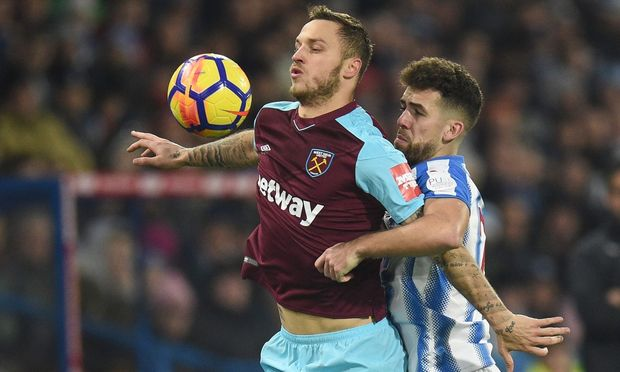 Marko Arnautovic und Tommy Smith
