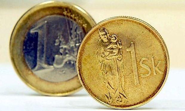 Slowakei Euro Krone