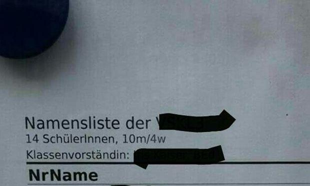 FPÖ Vomp stellt Namen von Volksschulkindern ins Netz