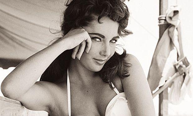 Liz Taylor fotografiert von Frank Worth