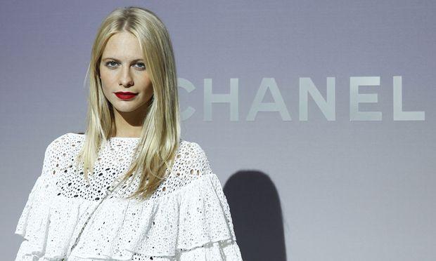 Poppy Delevigne kommt zur Vienna Fashion Night