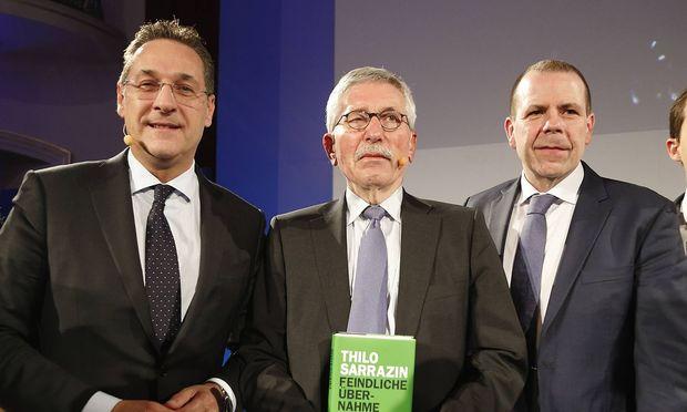 Heinz-Christian Strache, Thilo Sarrazin, Harald Vilimsky