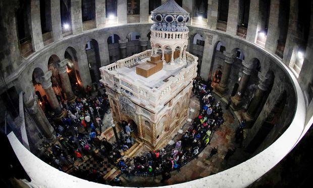 Grabeskirche in der Altstadt von Jerusalem