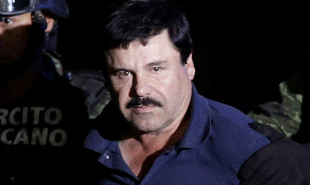 "Archivbild von Joaquin ""El Chapo"" Guzman."