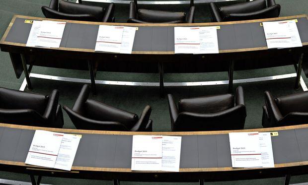Umbau des Parlaments