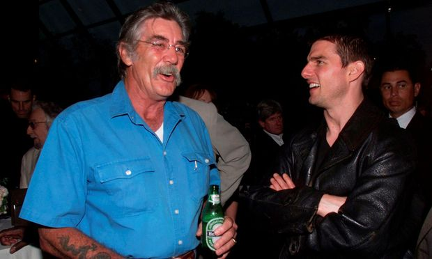 R. Lee Ermey und Tom Cruise