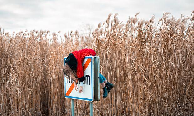 """Das nominierte Foto """"Fallen Out of the World"""" von Johannes Weigl"""