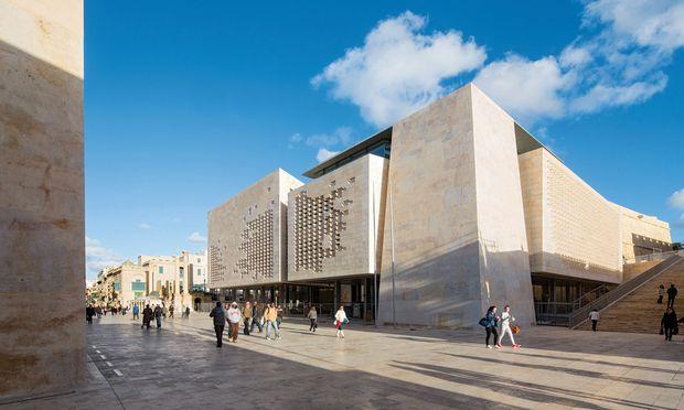Kunstwerk. Das Whitney Museum of American Art in New York.