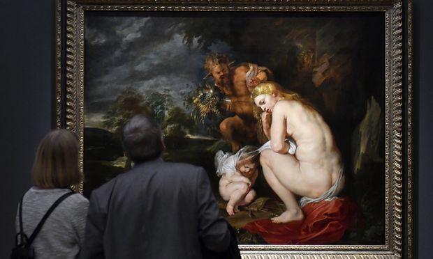 """Die Haltung der """"Venus Frigida"""" (1614), zu Gast aus Antwerpen, schaute sich Rubens vom beliebten antiken Motiv der kauernden Venus ab."""