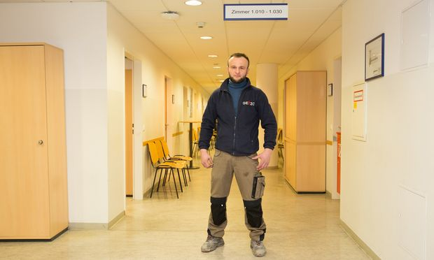 Abubakar A. ist gebürtiger Tschetschene und lebt von der Notstandshilfe.