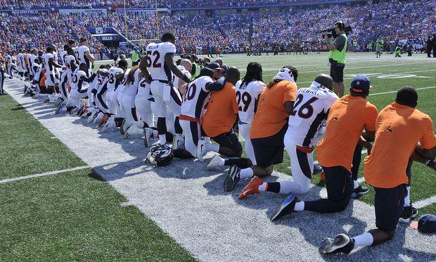 NFL-Protest gegen Donald Trump: US-Präsident feiert Buhrufe der Footballfans