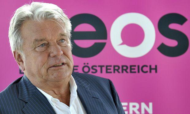 NEOS-Förderer und Unternehmer Hans Peter Haselsteiner