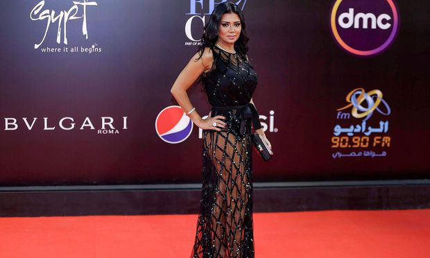 Rania Youssef  beim Internationalen Filmfestival in Kairo