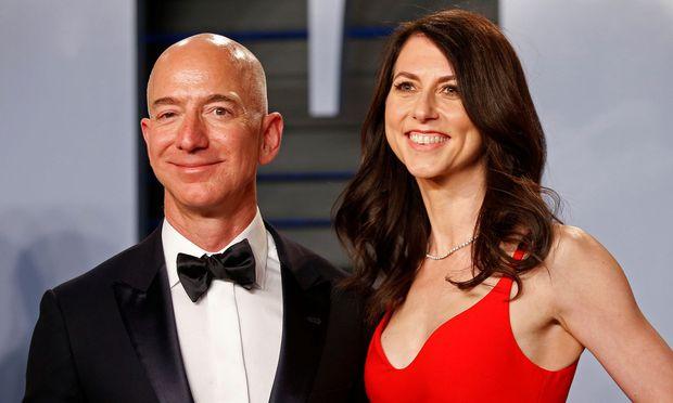Jeff und MacKenzie Bezos trennen sich einvernehmlich