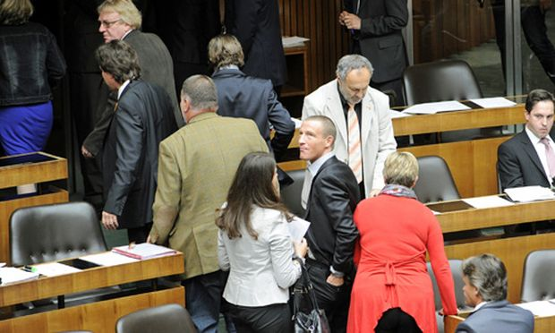 Eklat Parlament FPoe BZoe